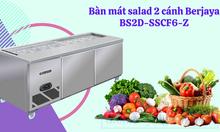 Bàn mát salad 2 cánh Berjaya BS2D-SSCF6-Z