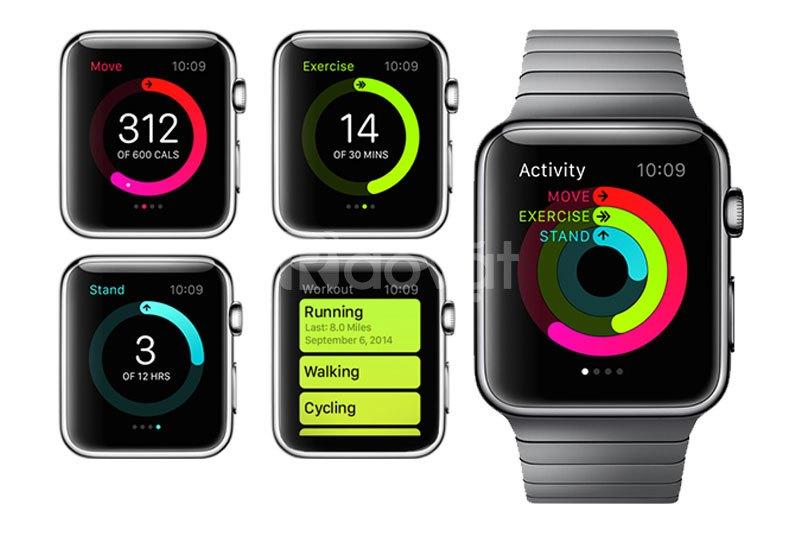 Đồng hồ thông minh Apple Watch Series 3 GPS Aluminum Case With Sport B