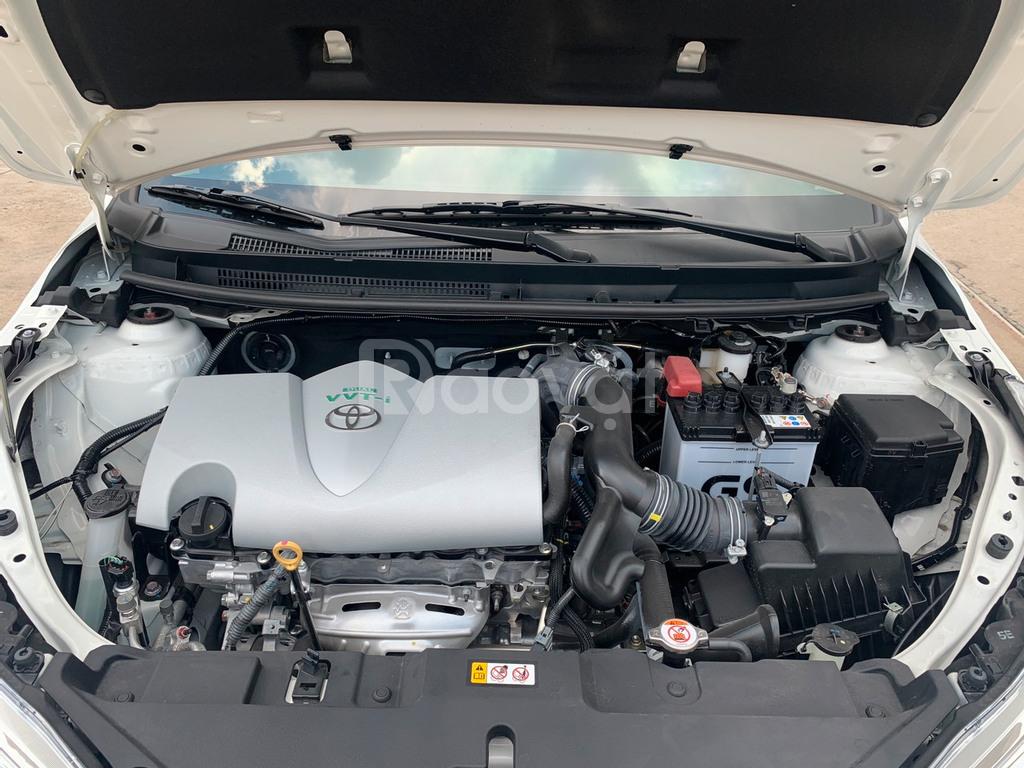Xe Vios E sản xuất 2019 lướt 1.000km màu trắng