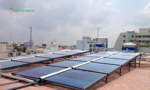 Dùng máy nước nóng năng lượng mặt trời là chung tay bảo vệ môi trường