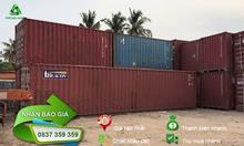 Thanh lý container phế liệu