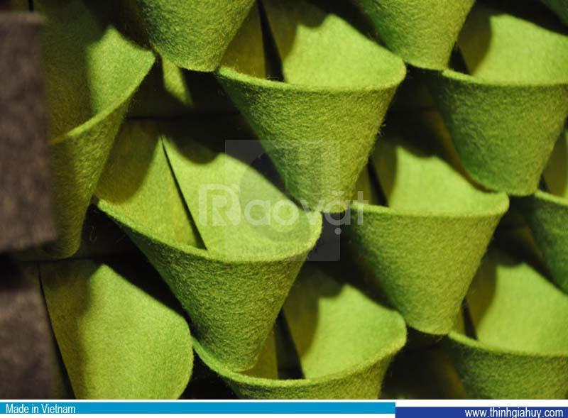 Vải xăm kim, felt, vải nỉ dùng lót sofa, may túi trồng cây, bọc loa