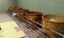 Máy xông hơi nước bằng lò hơi công nghiệp