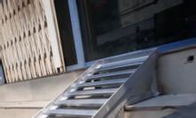 Làm cầu thang sắt dắt xe máy tại TP HCM lưu động