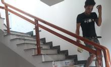 Bán tay vịn cầu thang gỗ căm xe giá rẻ hàng chất