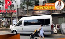 Cho thuê xe du lịch 16 chỗ đời mới tại TPHCM