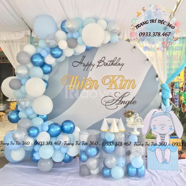 Dịch vụ trang trí thôi nôi, sinh nhật, sự kiện ở Sài Gòn