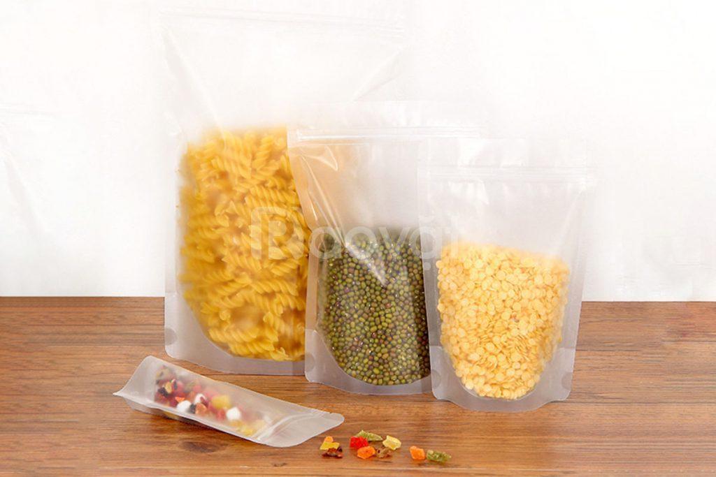Túi ép 3 biên, bao bì màng phức hợp tối ưu cho ngành xuất khẩu