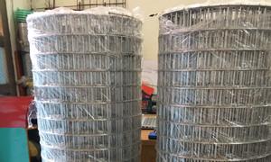 Chuyên sản xuất lưới thép hàn, lưới ô vuông dạng cuộn mạ kẽm.