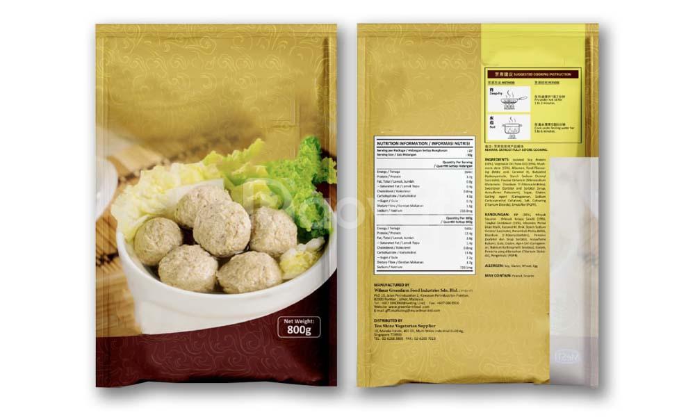 Các loại bao bì đóng gói sản phẩm cá viên