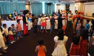 Tổ chức tết thiếu nhi chuyên nghiệp và nhiều trò chơi thu hút trẻ