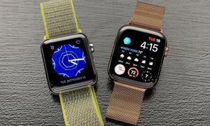 Đồng hồ Apple Watch Series 4 40mm hồng cực đẹp