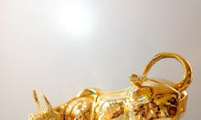 Tượng trâu bằng đồng, tượng trâu đồng, vật phẩm phong thủy bằng đồng