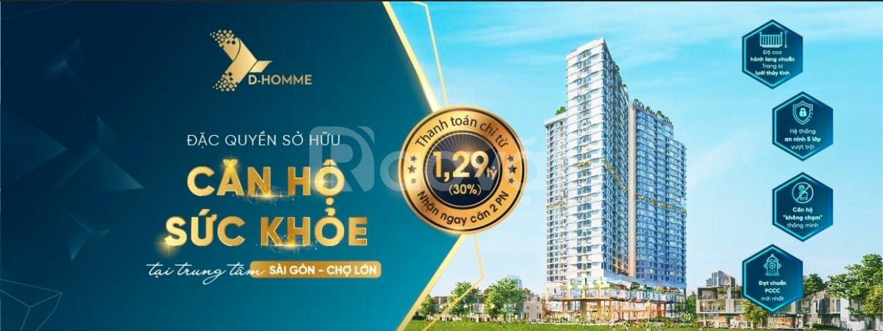 Vì sao D Homme là điểm đến của giới đầu tư căn hộ trung tâm TP.HCM