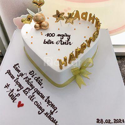 Tiệm bánh kem quận 9 bánh sinh nhật đẹp, freeship