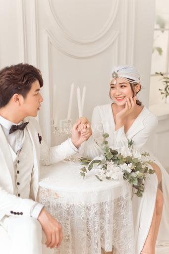 Phong cách cưới chuẩn hiện đại khi chọn chụp ảnh cưới phim trường