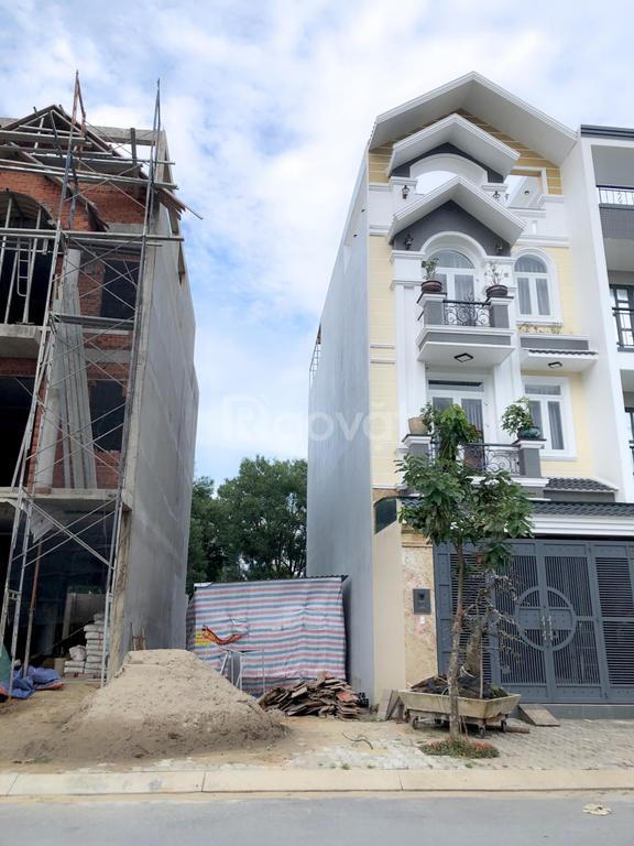Bán gấp nền đất 90m2 MT đường Võ Văn Vân, sổ hồng riêng, xây tự do