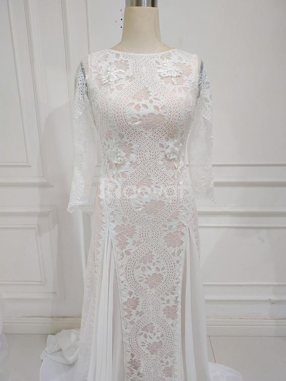 Nhận may áo cưới giống 99%