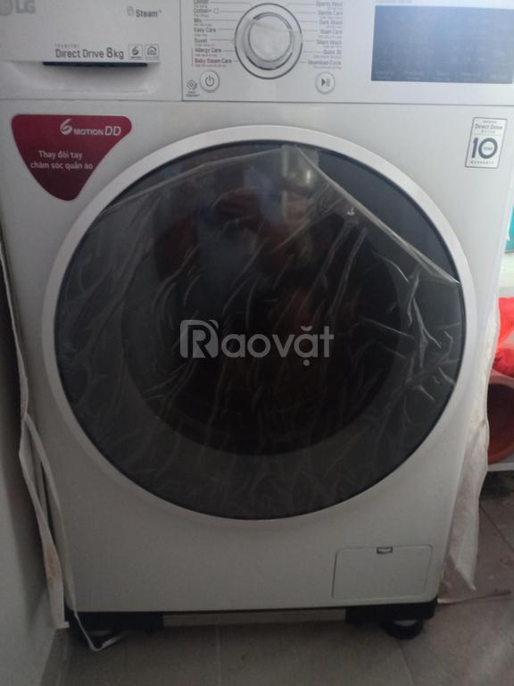 Gia đình cần bán máy giặt LG fc1408s4w2