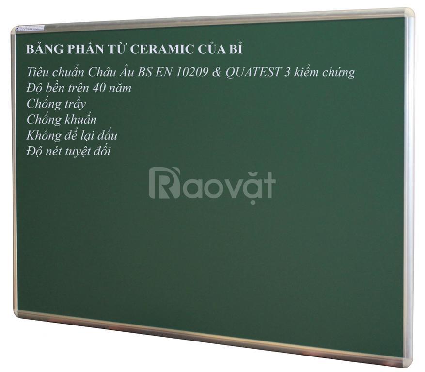 Bảng viết phấn từ Ceramic của Bỉ KT 80X120