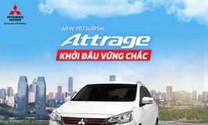 Mitsubishi Attrage CVT 2021 giảm ngay 30 triệu, trả 126 triệu nhận xe