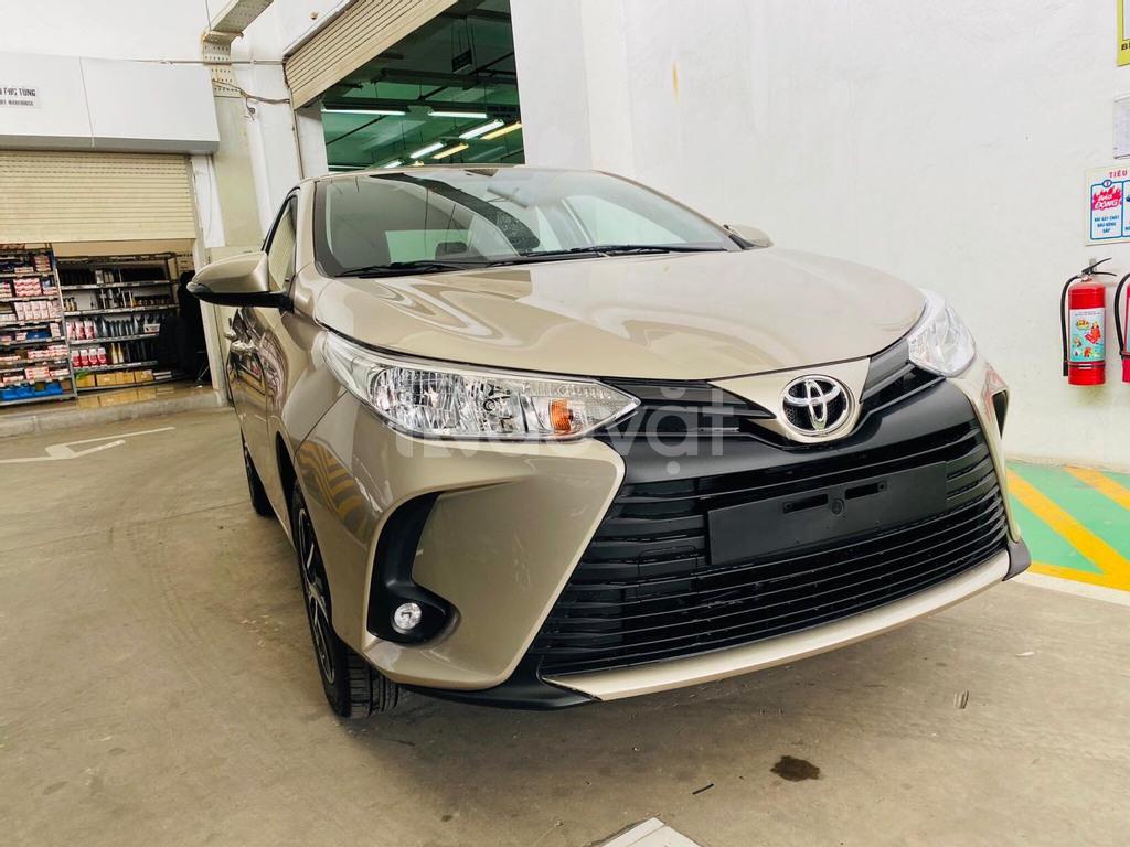 Toyota Vios 2021 trả góp từ 95tr, lãi suất 0,58%, tặng 1 năm bảo hiểm
