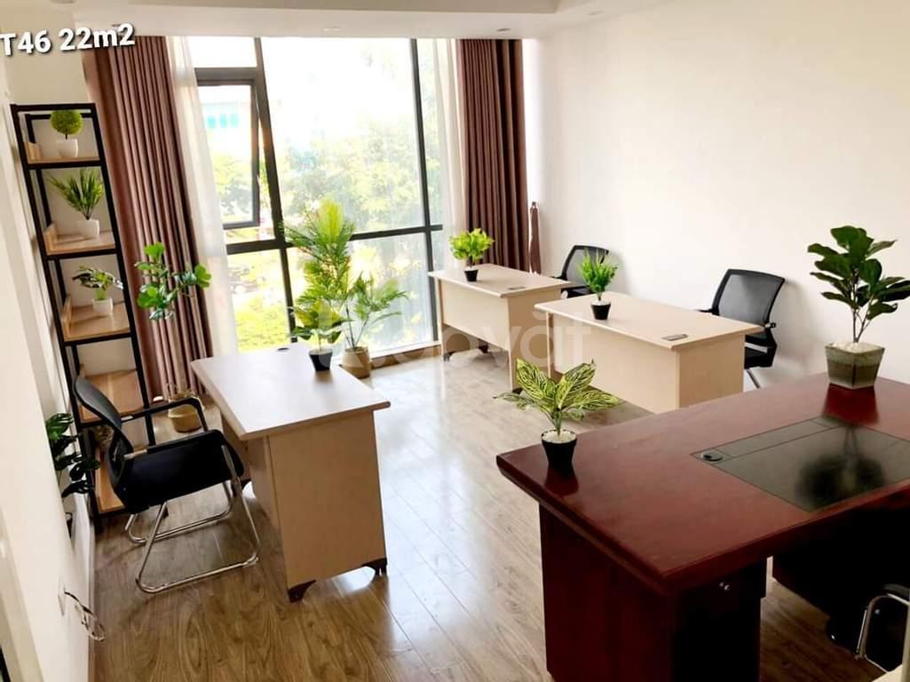 Cho thuê văn phòng đủ đồ, diện tích đa dạng 20m2, 22m2, 30m2, 70m2