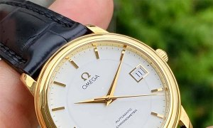 Omega de Ville co-axial 5520 new fullbox