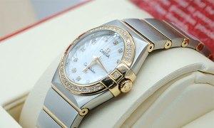 Lady Omega Constellation Diamond chính hãng Thụy Sỹ new fullbox
