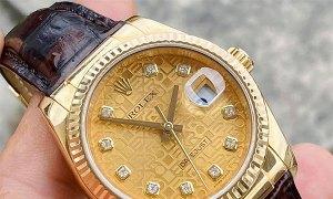 Rolex datejust full glod new fullbox