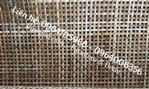 Lưới mây đan ốp vách, làm bàn ghế, tủ gỗ