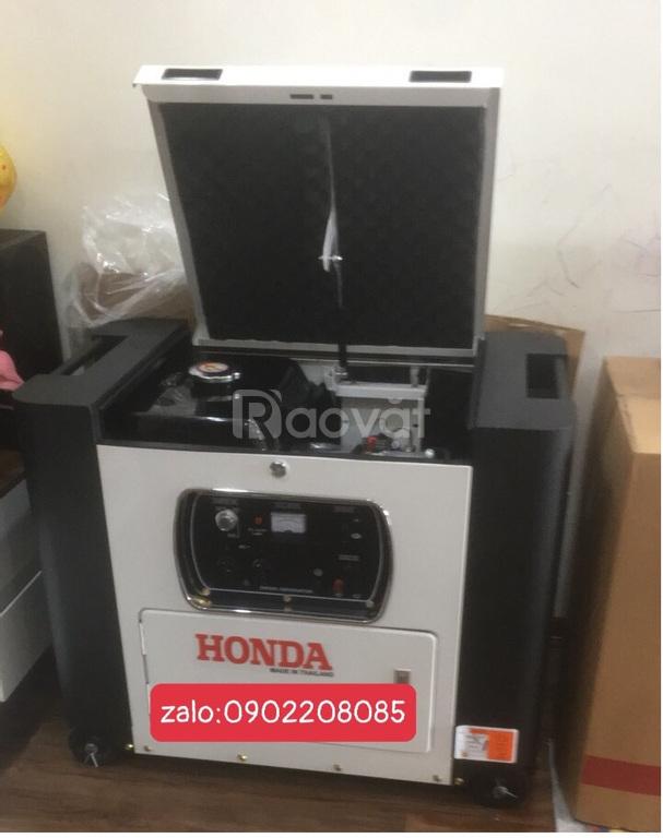 Máy phát điện Honda HD10900EC-7.5kw chạy dầu cách âm giá rẻ