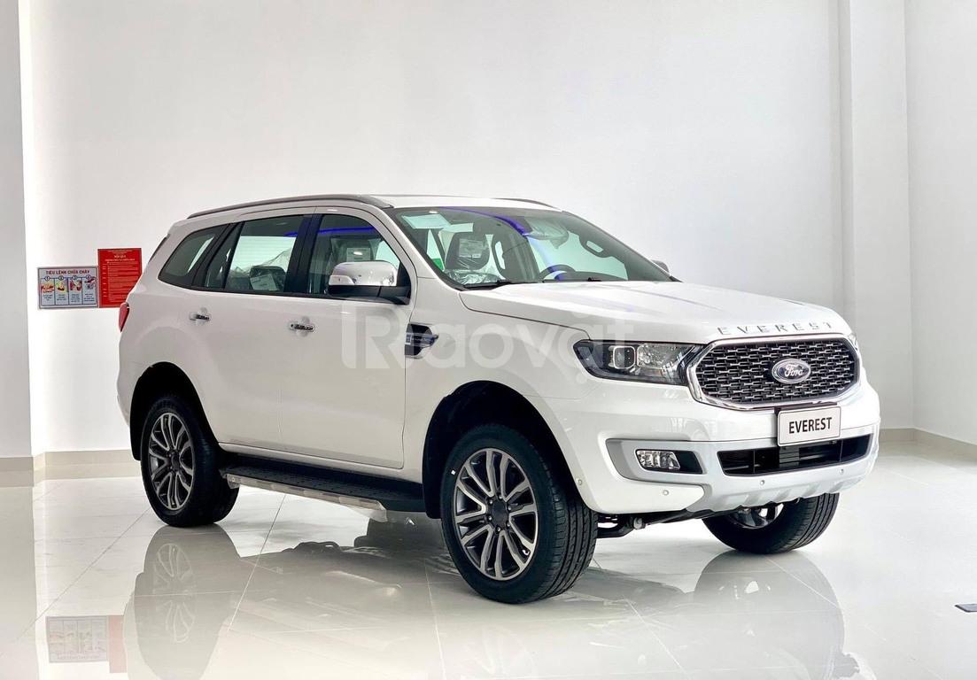 Bán Ford Everest mới, xe ưu đãi tốt, có sẵn giao ngay