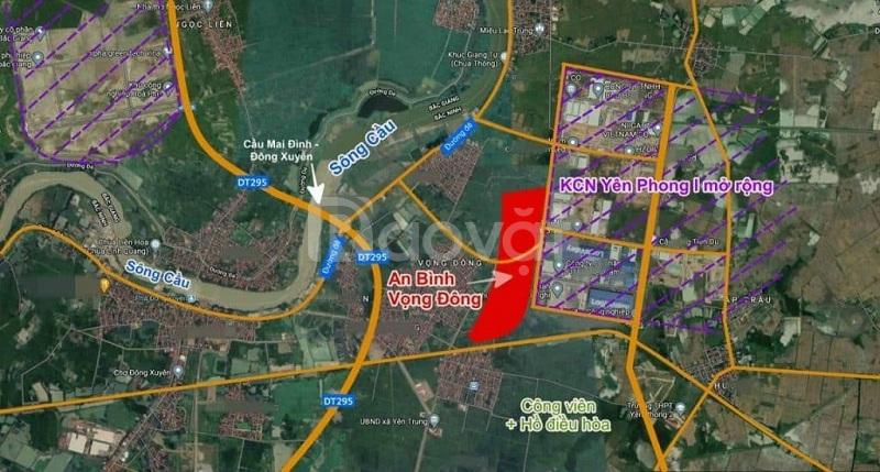 Bán liền kề LK8-15 dự án An Bình Vọng Đông view hồ, công viên