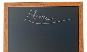 Bảng đen khung gỗ KT 120x160cm