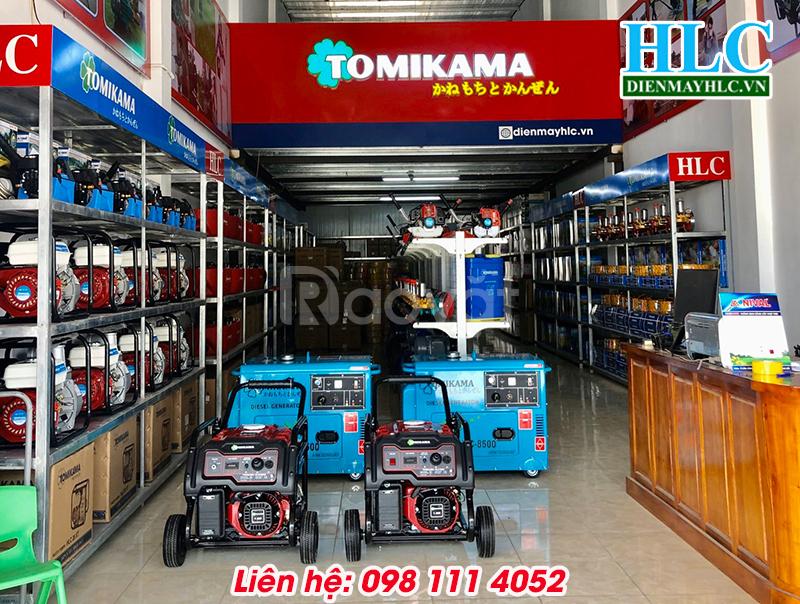 Máy phát điện gia đình giá tốt chạy dầu Tomikama