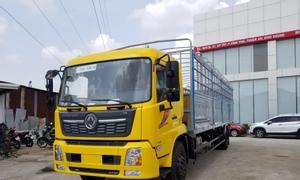Xe tải Dongfeng 8T thùng 9M5, chở bao bì, đại lý xe tải Dongfeng