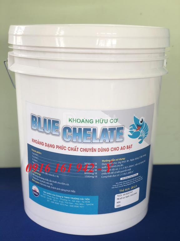 Khoáng Chelate, khoáng hữu cơ chuyên dùng cho ao bạt