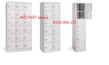 Tủ sắt locker 18 ngăn giá sỉ sản xuất