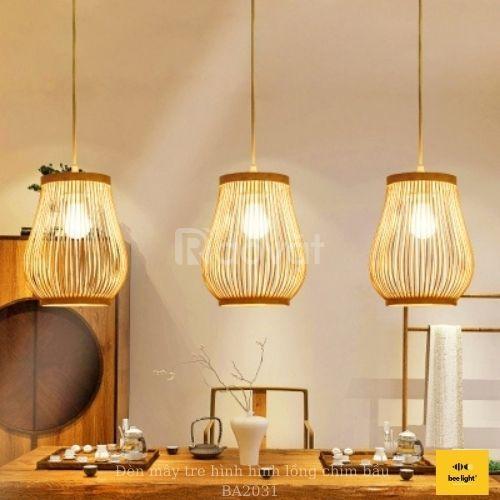 Bán đèn gỗ, đèn mây tre đan, đồ decor tại Tp.HCM