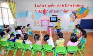 Tuyển sinh sư phạm mầm non tại Sài Gòn