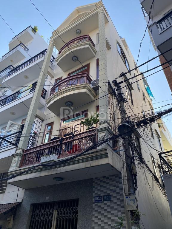 Bán nhà Trường Sa, Huỳnh Văn Bánh, Phú Nhuận, nhà trệt 3 lầu ST
