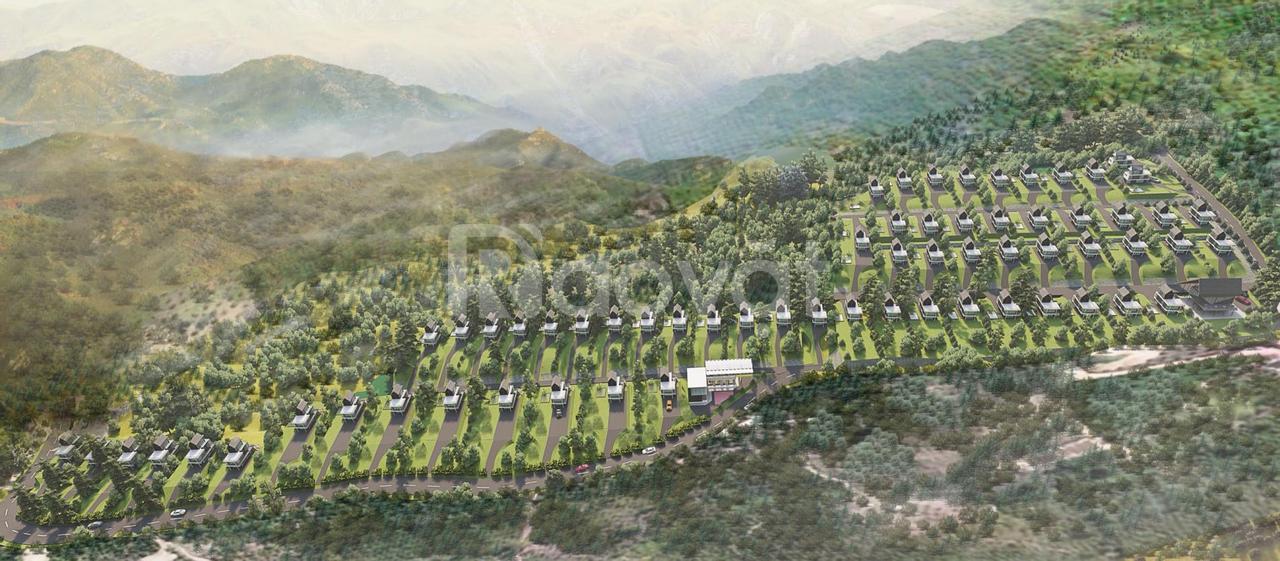 Đất Bảo Lộc tiện nghỉ dưỡng đối diện Cổng Trời nổi tiếng