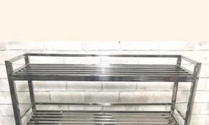 Bồn rửa chén có kệ úp như hình