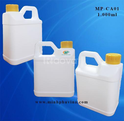 Can nhựa phân bón, can nhựa hóa chất, can nhựa nông dược