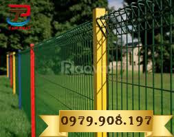 Lưới thép hàng rào mạ kẽm nhúng nóng D5 A50x200