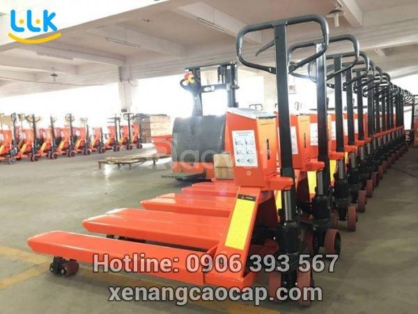 Địa chỉ bán xe nâng tay tại Lâm Đồng giá rẻ, hàng chuẩn