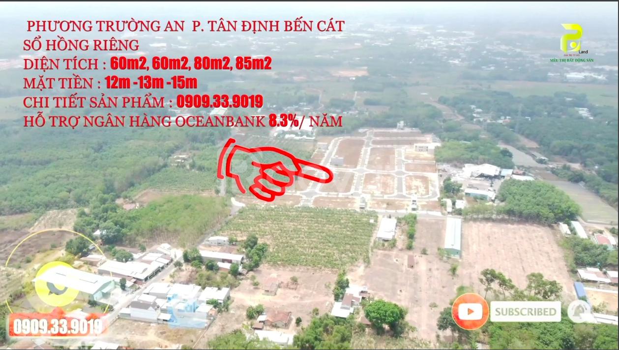 Mặt tiền D1 13m Phương Trường An 950 triệu/nền, bán block A, C, G