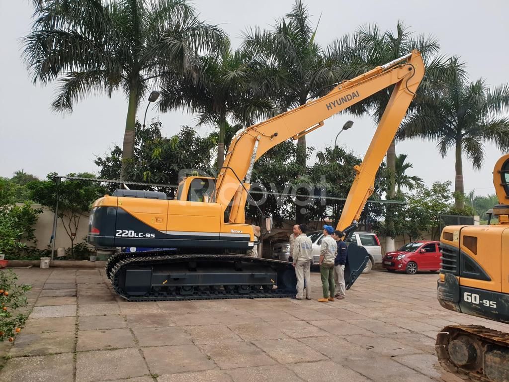Chuyên nhập khẩu và phân phối máy xúc Hyundai tại Việt Nam