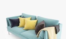 Bộ sofa 2 chỗ sắc màu cao cấp KL201